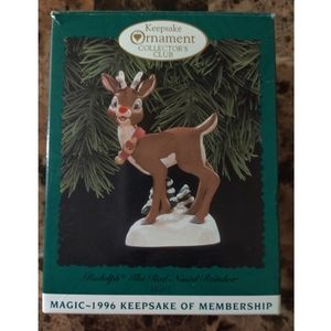Handcrafted Keepsake Ornament Dated 1996